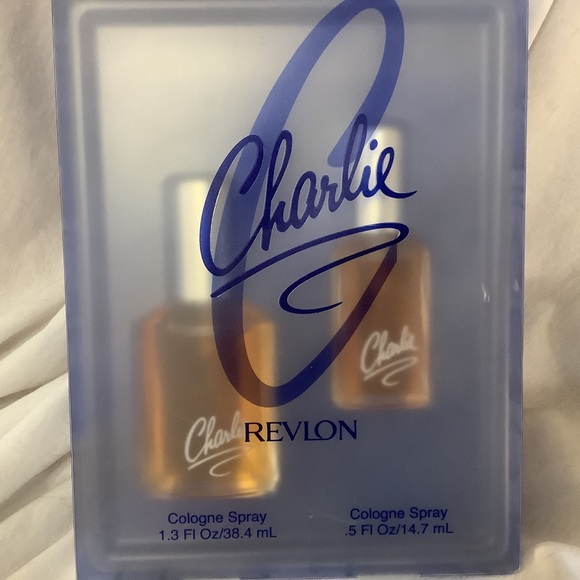 Sold Revlon Charlie Spray Gift Set of 2 Pieces New